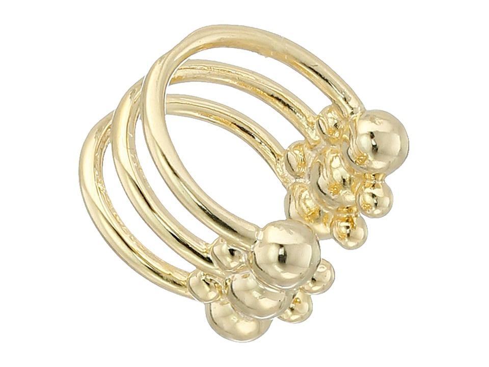 DANNIJO PHOEBE Ear Cuff Earrings Gold Earring