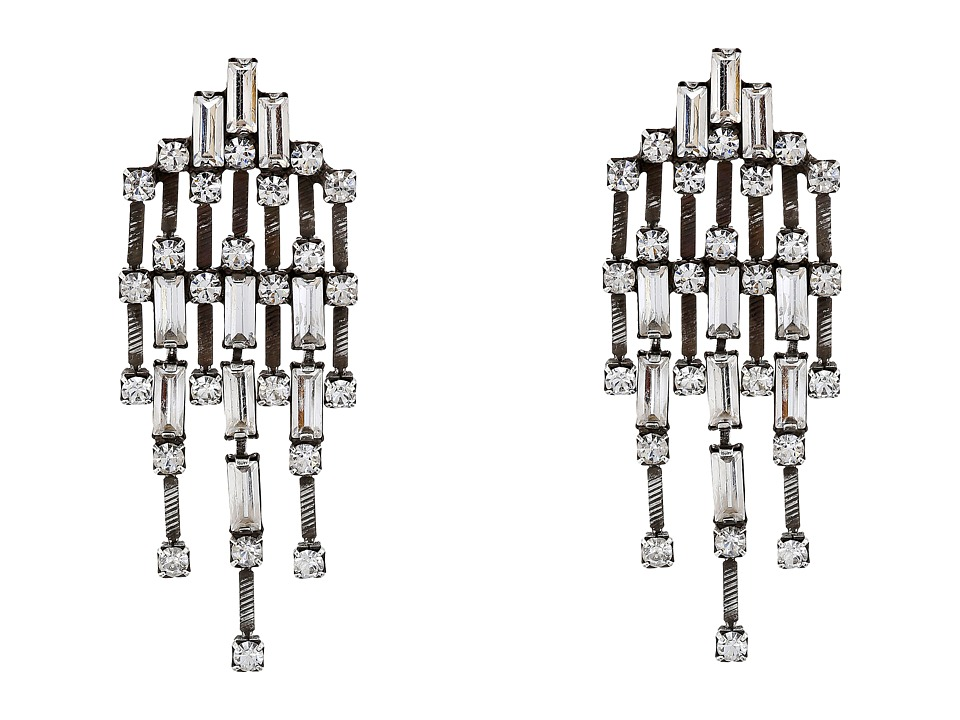 DANNIJO MYRA Earrings Silver/Crystal Earring