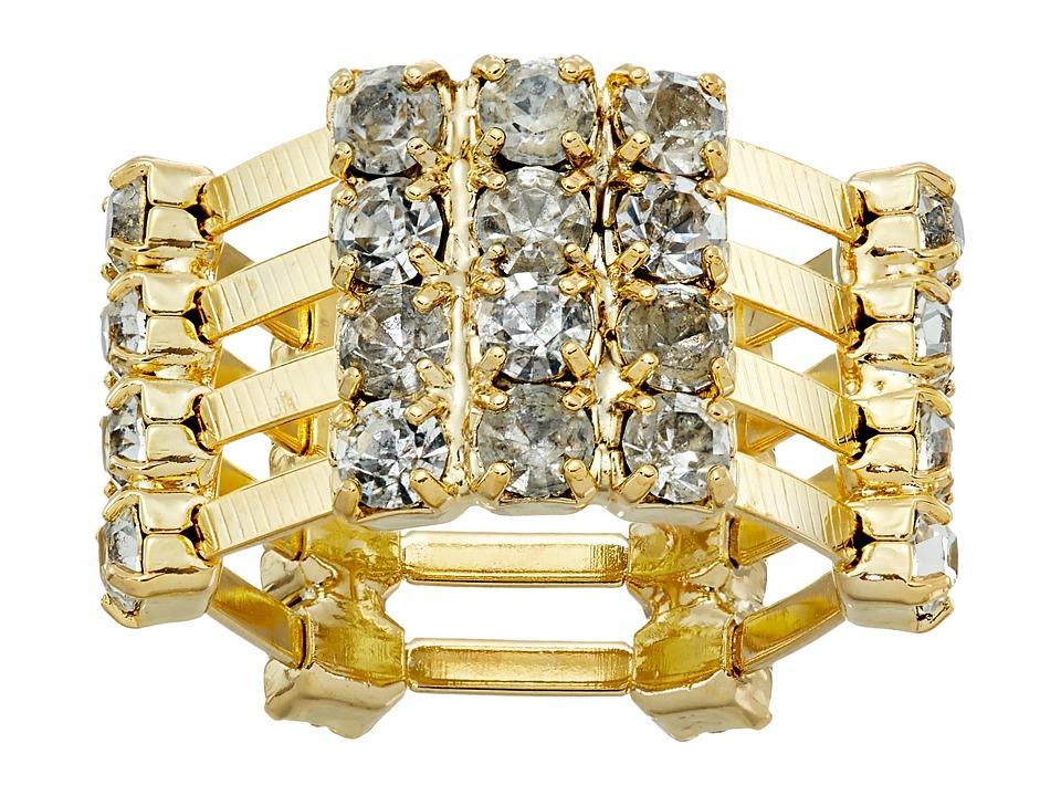 DANNIJO KELTY Ring Gold/Crystal Ring
