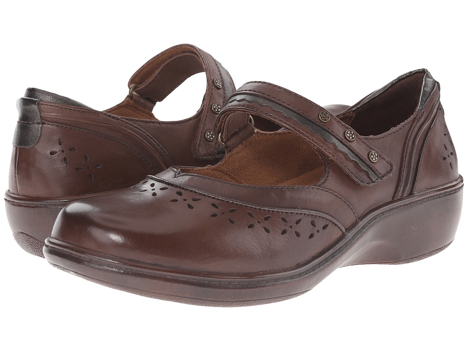 Aravon Dolly (Dark Brown) Women's Shoes