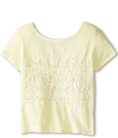 Lucky Brand Kids - Placed Pattern Tee (Big Kids)