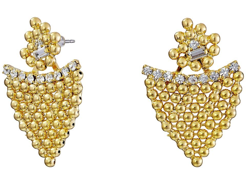 DANNIJO DEXTER Earrings Crystal Earring