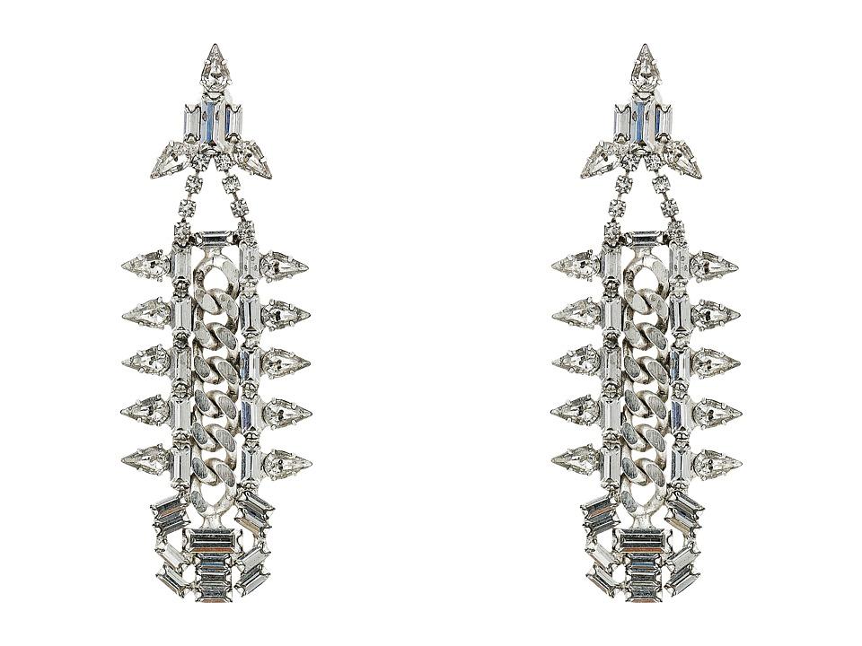 DANNIJO GAVIN Earrings Silver/Crystal Earring