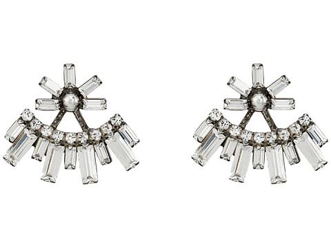 DANNIJO CASPER Earrings - Silver/Crystal
