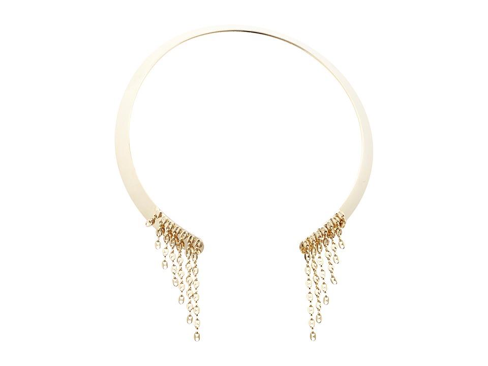 DANNIJO VEDA Necklace Gold/Crystal Necklace