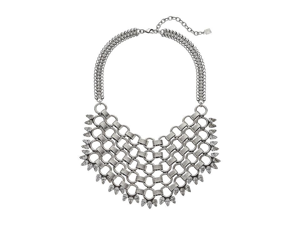 DANNIJO TREVOR Necklace Silver/Crystal Necklace