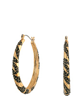GUESS - Hoop with Inset Stones Earrings