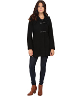 Jessica Simpson - Braided Wool Duffle Coat with Hood