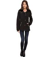 Jessica Simpson - Zip Front Soft Shell with Faux Fur