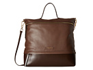 Lodis Accessories Kate Paige Messenger (Chocolate)