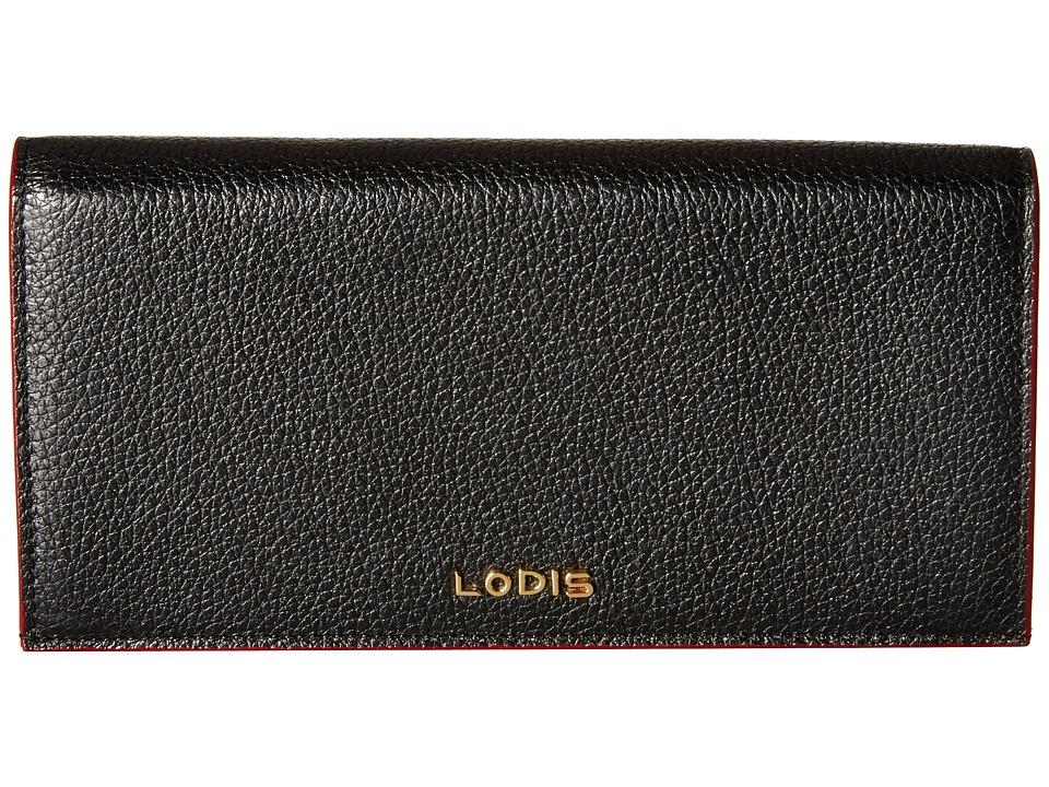Lodis Accessories - Kate Kia Wallet (Black) Wallet Handbags