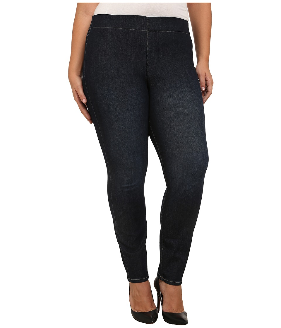 NYDJ Plus Size - Plus Size Poppy Pull On Jean in Hollywood (Hollywood) Women's Jeans plus size,  plus size fashion plus size appare