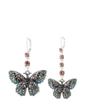 Betsey Johnson - Butterfly Effect Mismatch Earrings