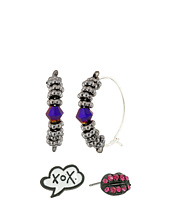 Betsey Johnson - Hoop And Stud Earring Set