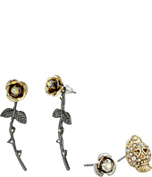 Betsey Johnson - Flower Crown Stud Earring Set