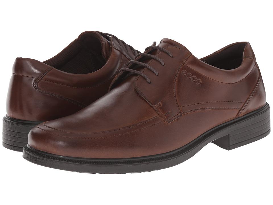 ECCO Inglewood Tie (Cocoa Brown) Men