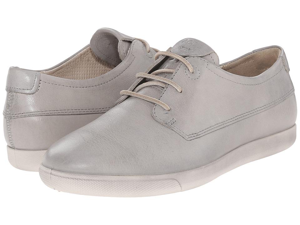 ECCO Damara II Tie Concrete Womens Lace up casual Shoes