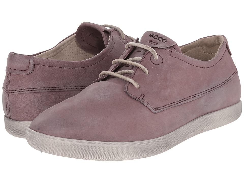 ECCO Damara II Tie Dusty Purple Womens Lace up casual Shoes