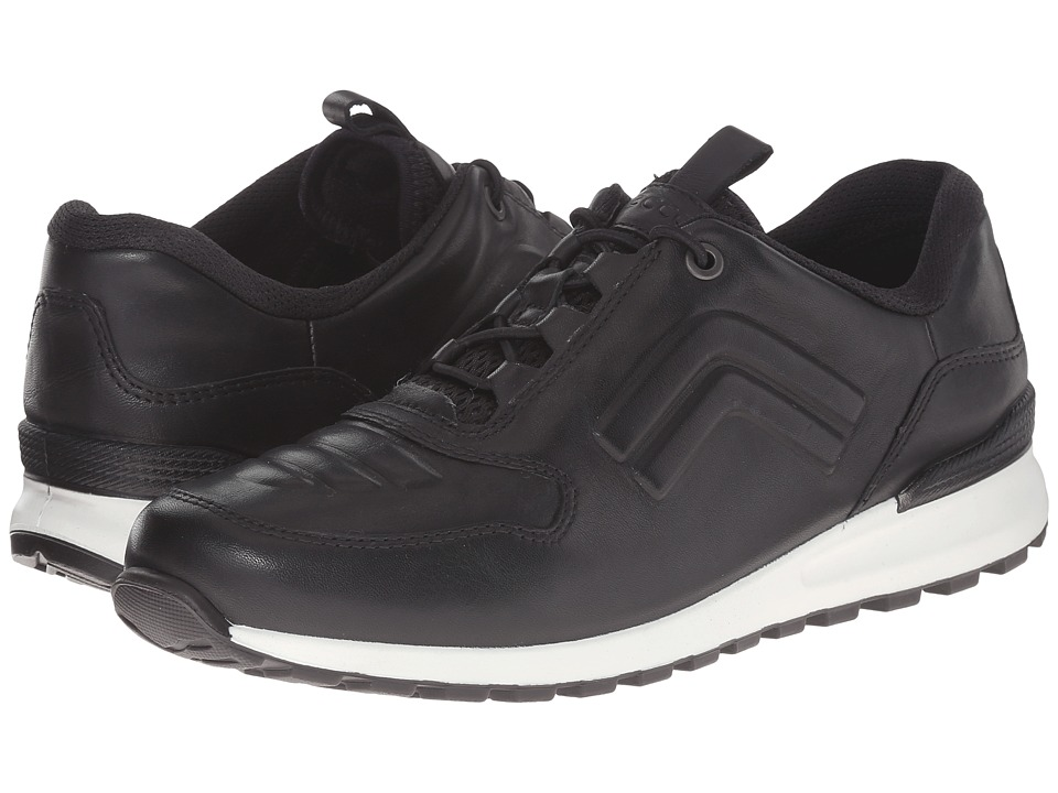 ECCO CS14 Toggle Black Womens Lace up casual Shoes