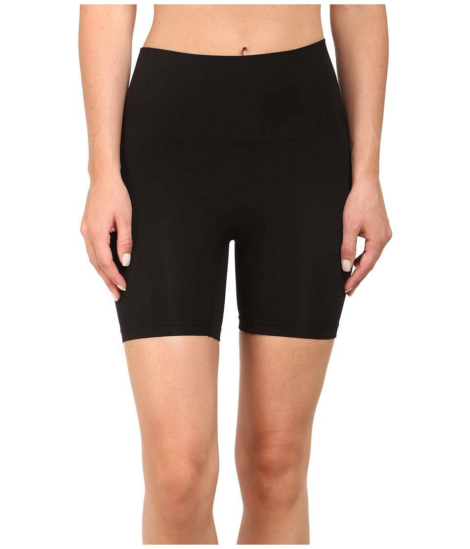 Jockey - Slimmers Seamfree(r) Shorts (Black) Womens Shorts