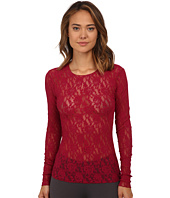 Hanky Panky - Signature Lace Unlined Long Sleeve Top