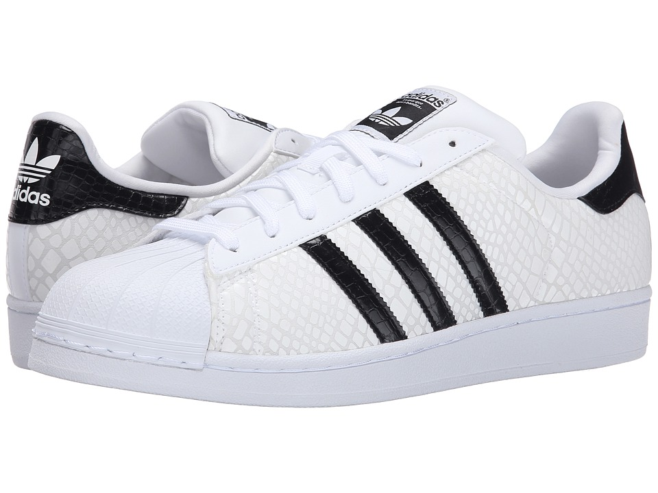 adidas Originals - Superstar - Foundation (White/Black/White) Men
