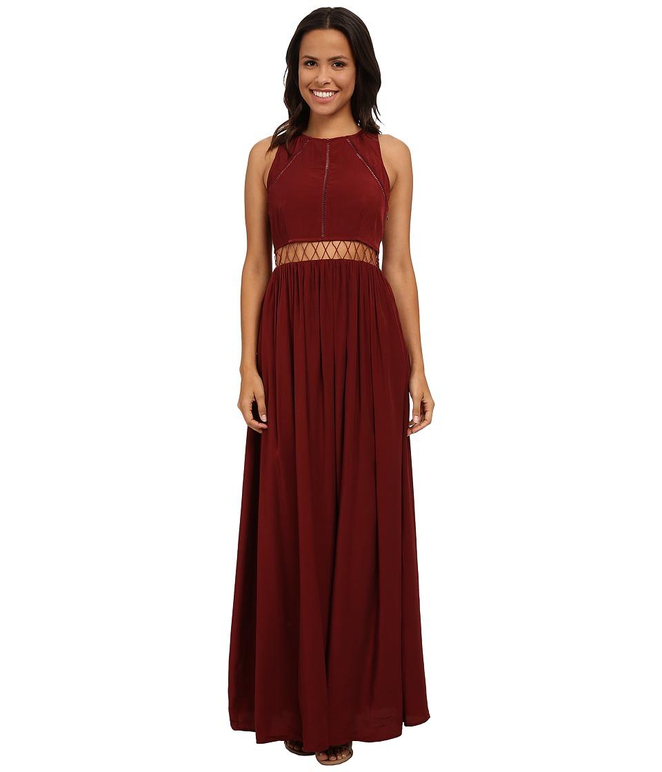 StyleStalker Glory Maxi Mahogany Womens Dress