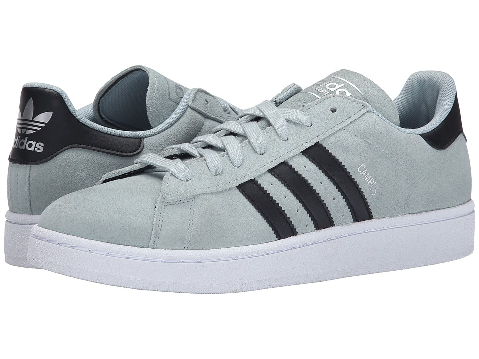 adidas Originals Campus Mist Slate/Black/White Mens Classic Shoes