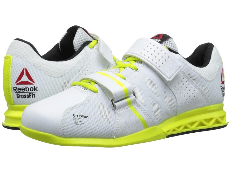 Reebok - CrossFit Lifter Plus 2.0 (White/Semi Solar Yellow/Black) Men