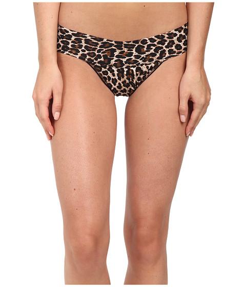 Hanky Panky Leopard BARE® Eve Thong - Brown/Black