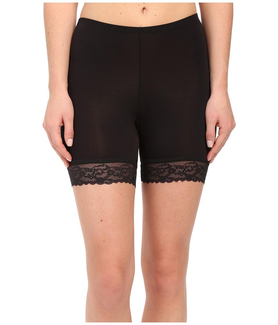 Hanky Panky Silky Skin Biker Shorts (Black) Women's Under...