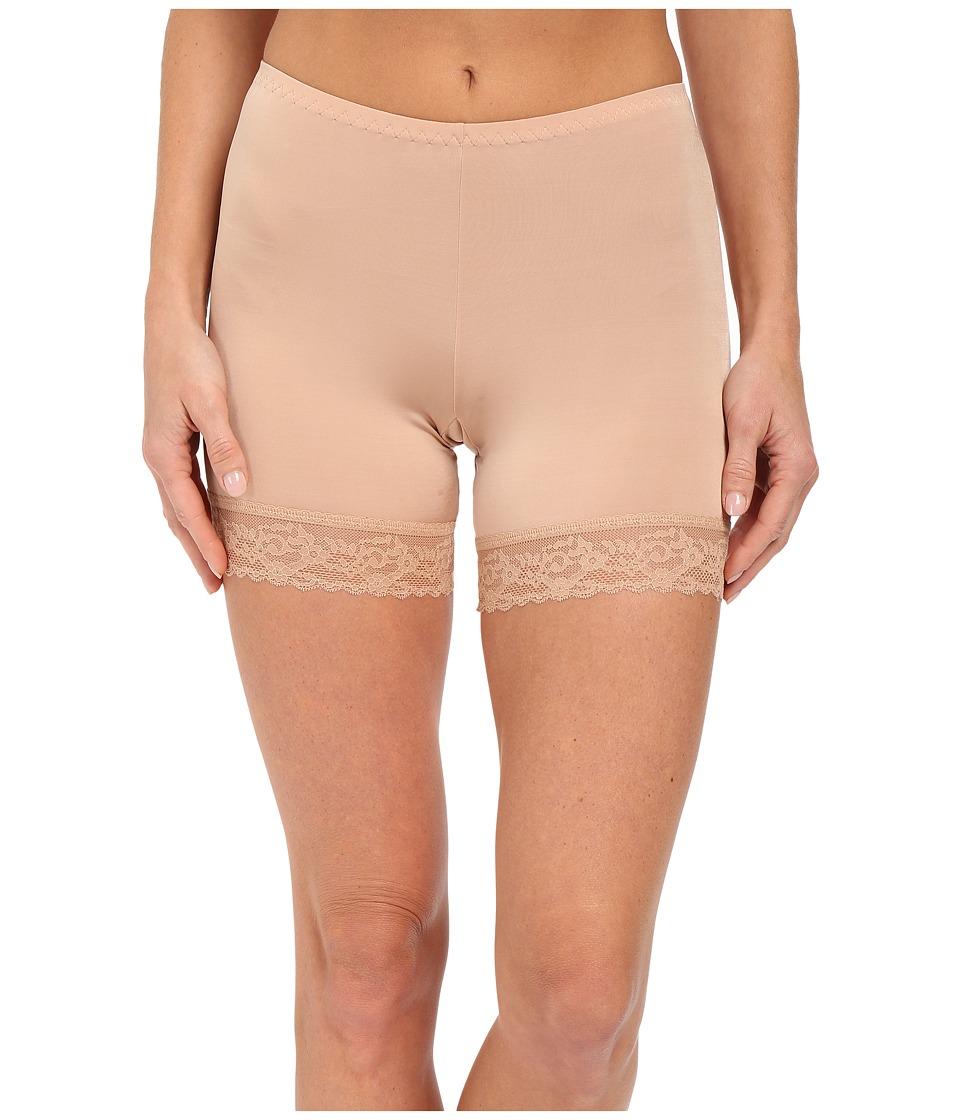 Hanky Panky Silky Skin Biker Shorts (Mocha) Women's Under...