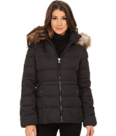Jessica Simpson - Wool Touch Puffer with Faux Fur