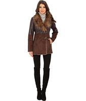 Jessica Simpson - Faux Shearling with Faux Fur Collar