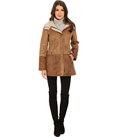 Jessica Simpson - Hooded Two-Tone Faux Shearling