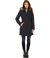 Jessica Simpson - Quilted Down with Faux Fur Trimmed Hood