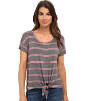 Splendid - Canvas Double Stripe Tie Front Top