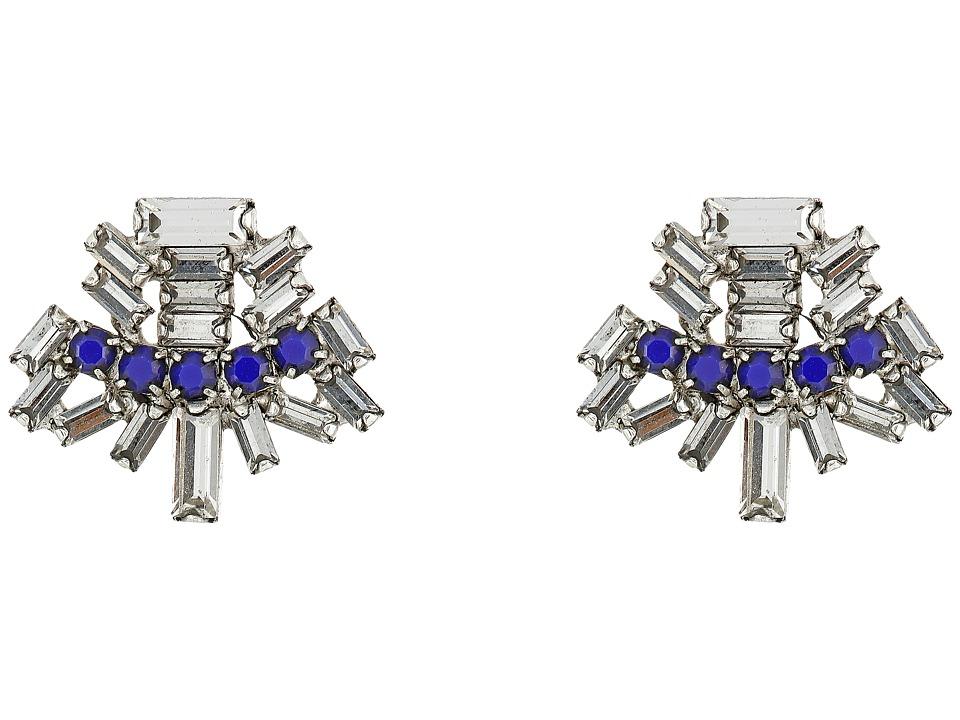 DANNIJO KELLAN Earrings Royal Blue Earring