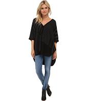 Splendid - Op-Art Sweater Poncho