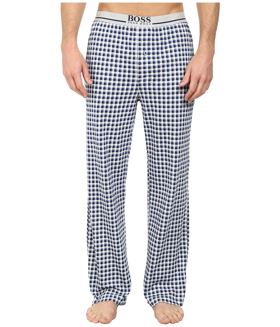 BOSS Hugo Boss Long Pant EW Jersey Dark Blue Mens Pajama