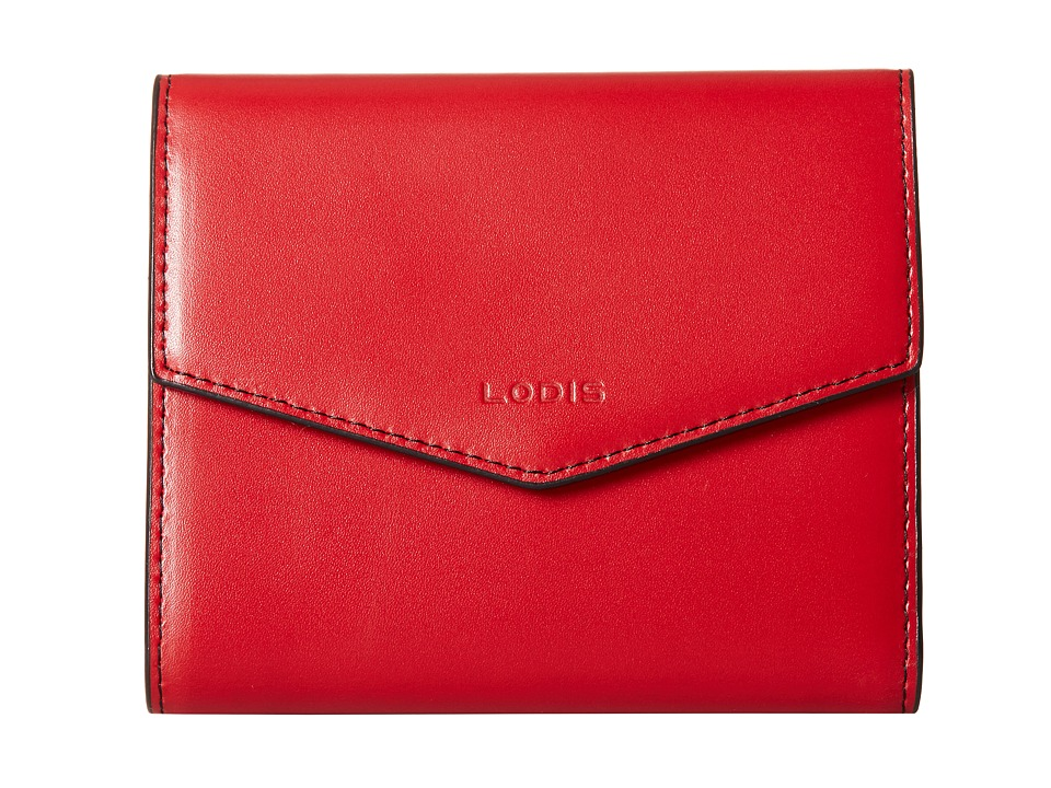 Lodis Accessories - Audrey Lana French Purse (Red/Black) Wallet Handbags