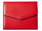 Lodis Accessories Audrey Lana French Purse (Red/Black)