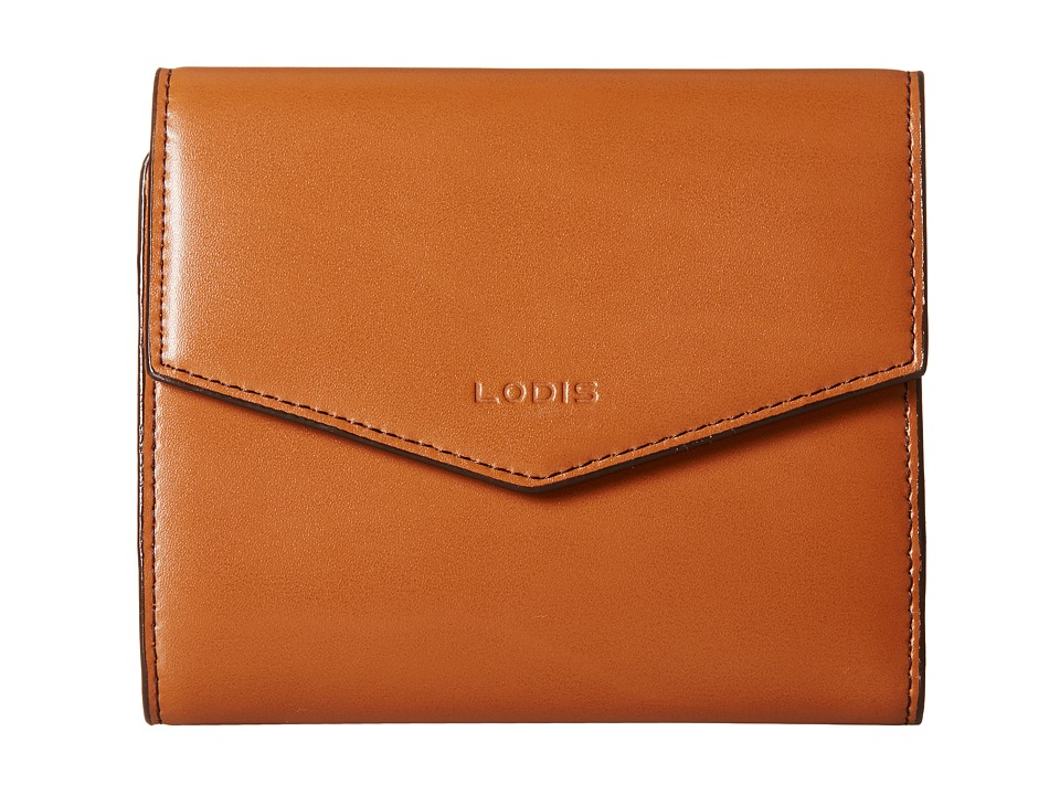 Lodis Accessories - Audrey Lana French Purse (Toffee/Chocolate) Wallet Handbags