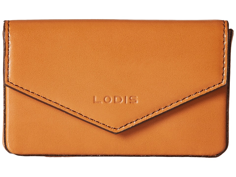 Lodis Accessories - Audrey Maya Card Case (Toffee/Chocolate) Credit card Wallet