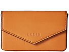 Lodis Accessories Audrey Maya Card Case (Toffee/Chocolate)