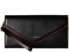 Lodis Accessories Audrey Nina Crossbody (Black/Red)