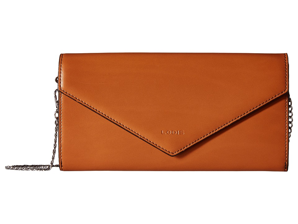 Lodis Accessories - Audrey Nina Crossbody (Toffee/Chocolate) Cross Body Handbags