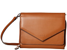 Lodis Accessories Audrey Daria Small Crossbody (Toffee/Chocolate)