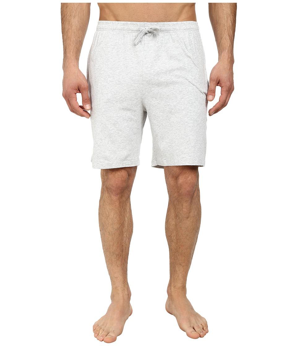BOSS Hugo Boss Cotton Short Pant Medium Grey Mens Pajama