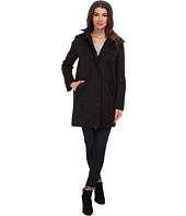 Cole Haan - Single Breasted A-Line Raincoat